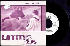 "LATITUD 28 - Intensamente / Escalera De Arena - SPAIN SG 7"" Amantis 1991 - 45rpm"