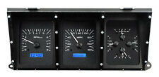 Dakota Digital 73-79 Ford Pickup Truck Analog Dash Gauges Black Blue VHX-73F-PU