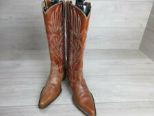 STEVE MADDEN WOMENS WESTERN/COWBOY BOOTS SIZE UK 7 BROWN VGC CODE-EA4015