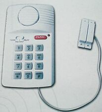 COMPACT ALARM SECURITY SYSTEM  DOOR AND WINDOW SENSOR SIMPLE EASY FIT BATTERY