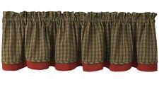 Window Curtain  - Lined Valance - Cabin by Park Designs - Lodge Lake Camp
