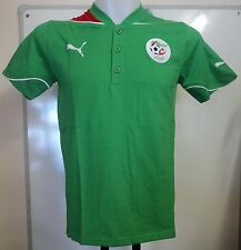 ALGERIA FOOTBALL GREEN POLO SHIRT BY PUMA ADULTS SIZE XL BRAND NEW WITH TAGS