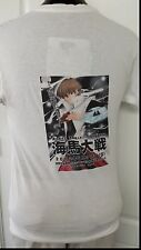 Kaibra From Yugeo Anime Cartoon 2002 Flower Islet Con V Neck T Shirt Medium Rare