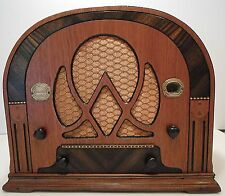 VINTAGE, 1934 ATWATER KENT CATHEDRAL, MODEL 217 RADIO - BEAUTIFULLY RESTORED