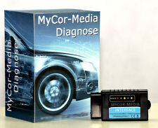 Bluetooth Interface für CAN-BUS OBD2 Diagnose für Mitsubishi  + Apps u.Software