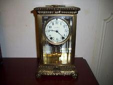 Seth Thomas 1913 Antique 'Empire No. 13'  Bronze & Brass Clock