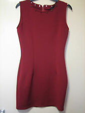 A LOVELY MISSGUIDED  DRESS WITH GOLD STUDS AND ZIP ( LQQK ) SIZE 8