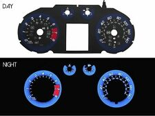 11-15 Chevy Cruze V2 Racing BLUE Glow Gauge Face Overlay for instrument cluster