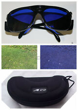 Golf Ball Finder Glasses Black Frame with Case E-1 in gift box