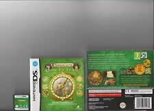 PROFESSOR LAYTON AND THE LOST FUTURE NINTENDO DS