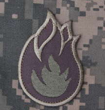 Mil-Spec Monkey Fireball Morale Patch ACU-Light Hook Back