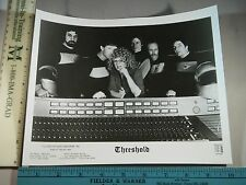 Rare Original VTG British Band Threshold Music Photo Still