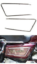 Chrome Steel Side Cover Rail for GL1500 and GL1200 Goldwings - #673-226A