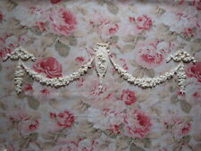 Shabby & Chic Rose Cameo Swags Bows Drops HUGE Furniture Applique Embellishment