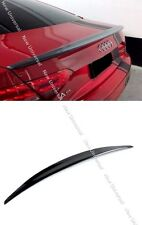 Carbon Fiber Rear Trunk Spoiler Lip for 12-16 Audi A5 Coupe 2dr /Convertible 2dr