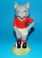 Beswick figurine ornament Football  cat 'Kitcat' FF3 1st Quality L/ED  BOX+CERT