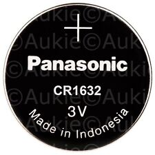 1 x  Panasonic CR1632 Lithium Button Cell Battery 3V Batteries Post from Sydney