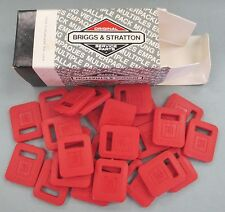 Red Briggs & Stratton GM Ignition Key Covers 25 in Original Box
