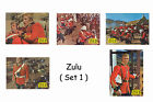 ZULU - SET OF 5 A4 SIZED REPRINT LOBBY POSTERS # 1