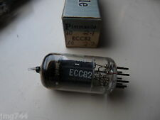 ECC82 PINNACLE 17mm PLATE   NEW OLD STOCK VALVE TUBE 1PC N14A