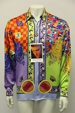 1993 NEW ELVIS PRESLEY ENTERPRISE LTD.EDITION ONLY 50 MADE MED.100% SILK SHIRT