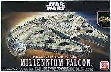 Star Wars Modellbausatz, Millennium Falcon, 1/144, Bandai, Force Awakens, Falke