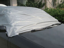 UV RESISTANT CAR TOP COVER ALL WEATHER PROTECTION CAR COVER WITH HOOKS & STRAPS
