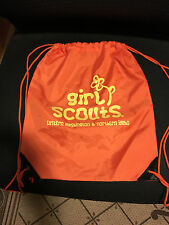 Girl Scouts of Eastern WA and N. Idaho String Back Pack - Used - Qty 1 - Nice!