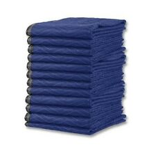 Deluxe Moving Blankets - (12 Heavy Duty) Microfiber Moving Pads - 65 lbs./dozen