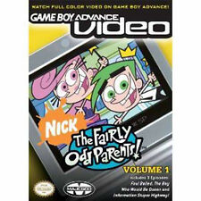 New GBA Video The Fairly Odd Parents Volume 1