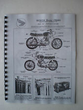 HONDA CB160 SET-UP INSTRUCTIONS ASSEMBLY MANUAL