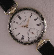 Early Serviced ALL ORIGINAL John Myers 1900 Antique Swiss Wrist Watch Perfect