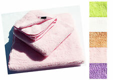 Hypoallergenic Microfiber Pink Bath Towel Set for Baby & Sensitive Skin