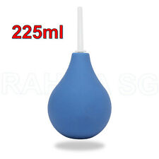 Anal/Vaginal Bulb Douche Colonic Irrigation Enema Rectal Cleaner 225ml BLUE New