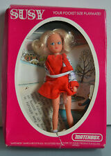 Antigua muñeca Susy Patinadora Matchbox- En su caja -