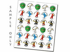 30 personalized Ninjago stickers labels great birthday party favors decoration