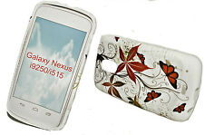 DESIGN No.1 SILIKON TPU COVER CASE + Displayschutzfolie SAMSUNG GALAXY NEXUS
