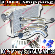 Intercooler + Piping Kits for 1986-1991  Mazda RX7 RX-7 FC3S Bolts on Directly