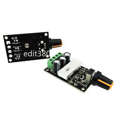 6V 12V 24V 3A 80W PWM DC Motor Speed Controller Variable Drive Control Switch 80