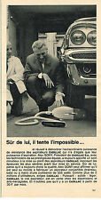 PUBLICITE ADVERTISING 084  1963  CADILLAC  aspirateurs MR ALEX GONY