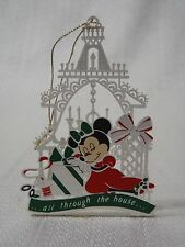 1980s Vintage Disney Twas Night Before Christmas MINNIE MOUSE SLEEPING Ornament