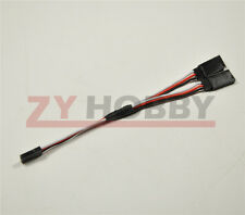 2PC 150mm Y Style Extension extend Lead Wire Cable For FUTABA Servo RC Plane Kit