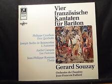 Vier französische Kantaten für Bariton / Gerard Souzay