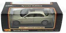 Maisto 1998 JAGUAR S-TYPE Special Edition Silver Diecast #31865 1:18
