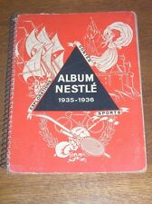 ALBUM NESTLE 1935-1936 / SPORTS, CONTES, EXPLORATIONS / PRESQUE COMPLET +++