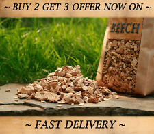 BEECH Smoking Wood Chips of highest quality for BBQ or FOOD SMOKER,Hot & Cold,5L