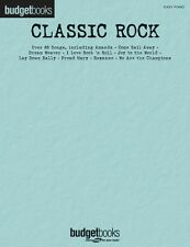 Classic Rock Sheet Music Budget Books Easy Piano SongBook NEW 000112962
