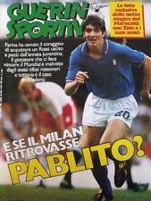 Guerin Sportivo 29 1985 [gs.28] Speciale inserto COPPA ITALIA 1984-85 Sampdoria