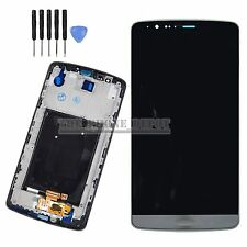 For LG G3 D855 D850 LCD & DIGITIZER TOUCH SCREEN ASSEMBLY BLACK/ GREY + Frame UK