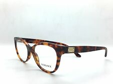 Versace MOD. 3193 5074 Tortoise New Authentic Eyeglasses 52/16/140mm w/Case